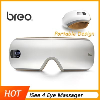 Getrouw Breo Eye Massager Isee4 Opvouwbare Elektrische Luchtdruk Oplaadbare Muziek Draadloze Vibratie Magnetische Verwarming Therapie Massage