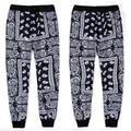 Harajuku new fashion 2015 men/women's hip hop jogger pants graphic print KTZ bandana stylish track sweatpants hiphop streetwear