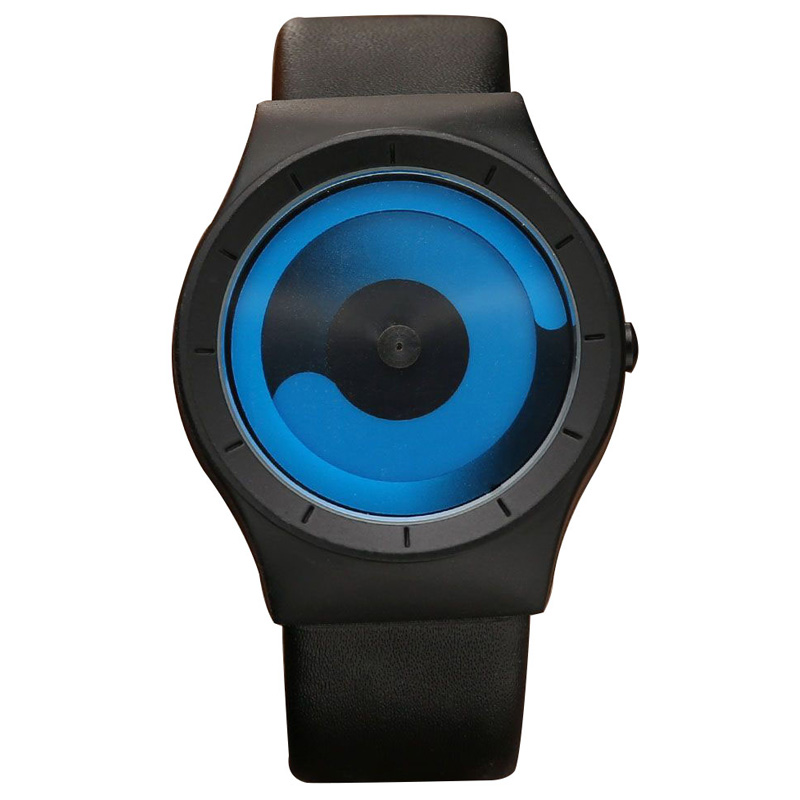 Unique Design Turntable Minimalist Creative Watch Novel Stylish Geek Sports Quartz Wrist Watch For Men Women Relogio MasculinoUnique Design Turntable Minimalist Creative Watch Novel Stylish Geek Sports Quartz Wrist Watch For Men Women Relogio Masculino