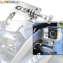 цены Stainless Steel Motorrad Gopro Front Left Bracket Holder Cam Camera Mount for BMW R 1200 GS R1200GS 2013-2016 BMW R1200GS Adv