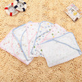 4 Layers Gauze Soft Newborn Baby Hooded Swaddle Infant  Pure Cotton Thin Blankets Baby Sleeping Sack Bath Towel 70*70cm