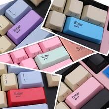 IDOBAO Pbt Oem Keycaps Laser Carving Front Printing Spacebar Mechanical gaming Keyboard Custom Setup Teclado Gamer