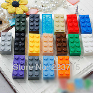 8 Pack of NEW LEGO Bricks 2x4 Part 3001 SELECT COLOUR FREE POSTAGE