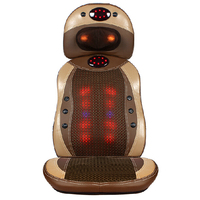 2017 Newest Electric Shiatsu Massage Chair Cushion With Heat Massager kneading tapping massage cover cushion
