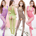 sexy stocking for women sexy bodysuit open crotch tights body stocking bodystocking erotic Sexy lingerie open file Siamese tight