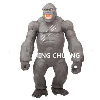 Kong Skull lsland The chimpanzee Vinyl 45CM Action Figure Collectible Model Toy OPP With J235