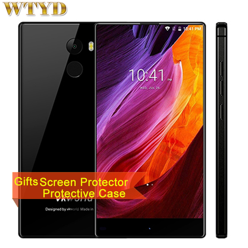 VKworld Mix Plus 3GB+32GB Fingerprint Identification 5.5'' 2.5D Full Edgeless Android 7.0 MTK6737 Quad Core up to 1.3GHz 4G