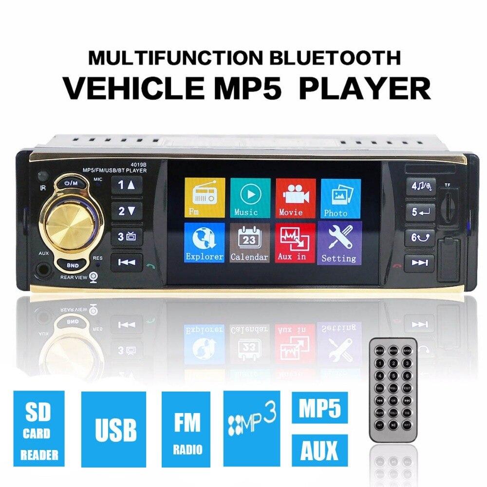 Brand New 4.1 Inch MP5 MP3 Car Video Player Bluetooth AUX Input Stereo Radio FM USB/TF Card
