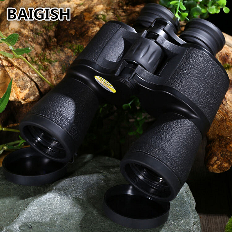 Russian Binoculars Baigish 20x50 Hd Powerful Military Binocular High Times Zoom Telescope Lll Night Vision For Hunting Camping lucky zoom russian military metal 6x24 times binoculars telescope high clarity observation optical red film binoculars