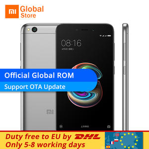"Xiaomi Redmi 5A 5 A 3 GB RAM 32 GB ROM 5.0 ""13.0MP Camera 4G LTE 3000 mAh Mobile"
