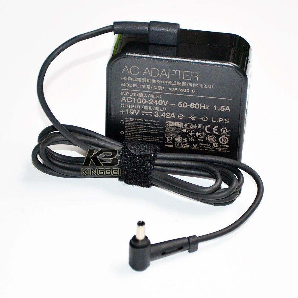New 65W Power Adapter AC DC Charger For Asus BU201LA B8430UA P2710 P2710JA Cargador Adaptador 45mm