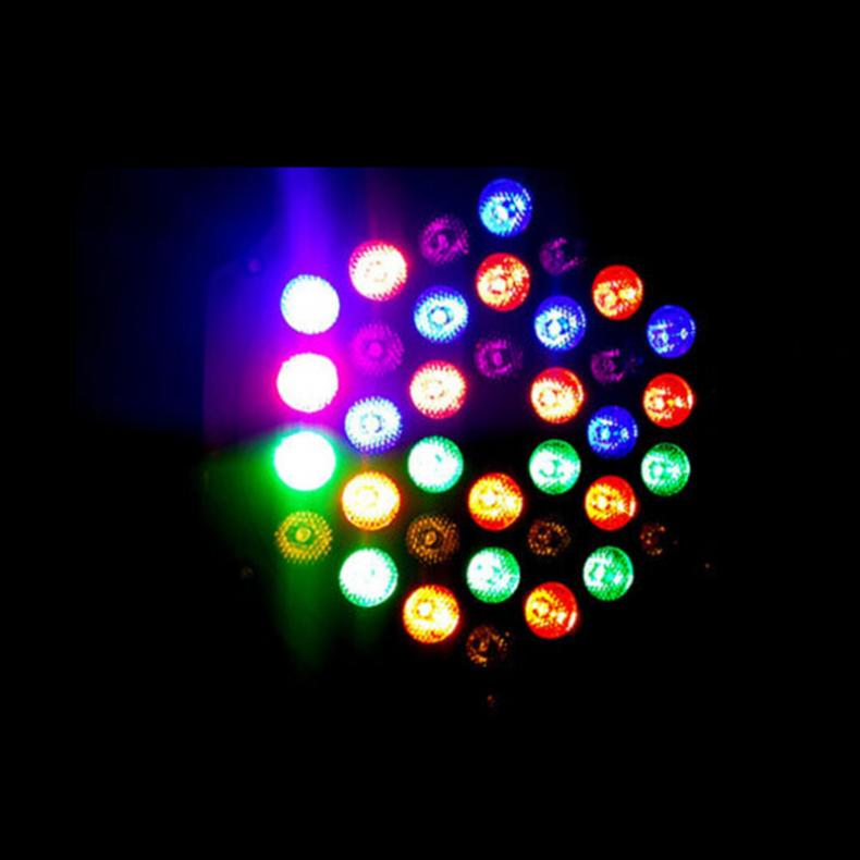 Professionell LED Crystal Magic Ball Par 36 RGB LED DMX Stage Light - Kommersiell belysning - Foto 5