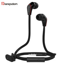 Original Langsdom JM12 earphones with Microphone Noise Canceling Super Bass 3.5mm Earphones Headset For iphone samsung phone(China)