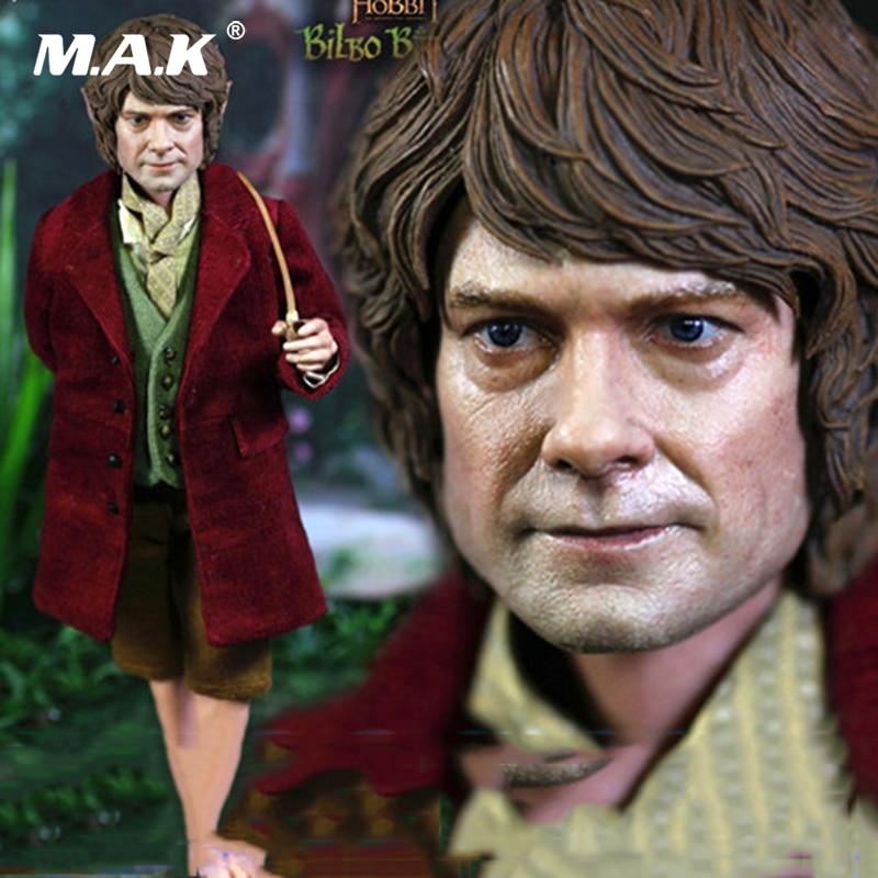 Tam set bebek 1/6HOBT07 1/6 Hobbit Beklenmedik Yolculuk Bilbo Baggins Oyuncaklar Hediyeler Action Figure Koleksiyon oyuncak bebekler hediyeTam set bebek 1/6HOBT07 1/6 Hobbit Beklenmedik Yolculuk Bilbo Baggins Oyuncaklar Hediyeler Action Figure Koleksiyon oyuncak bebekler hediye