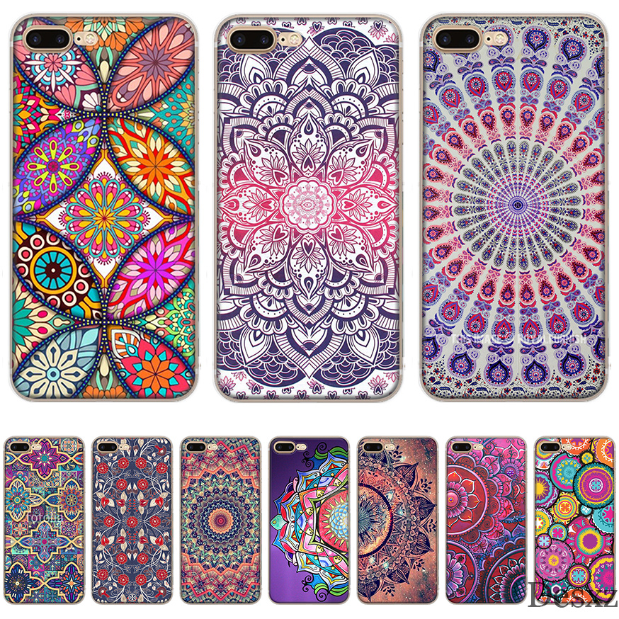 Phone Case Cover  Mandala Dreancatcher For Apple iPhone 5 5s Se 6 6s 7 8 X XS XR XS Max TPU Cases