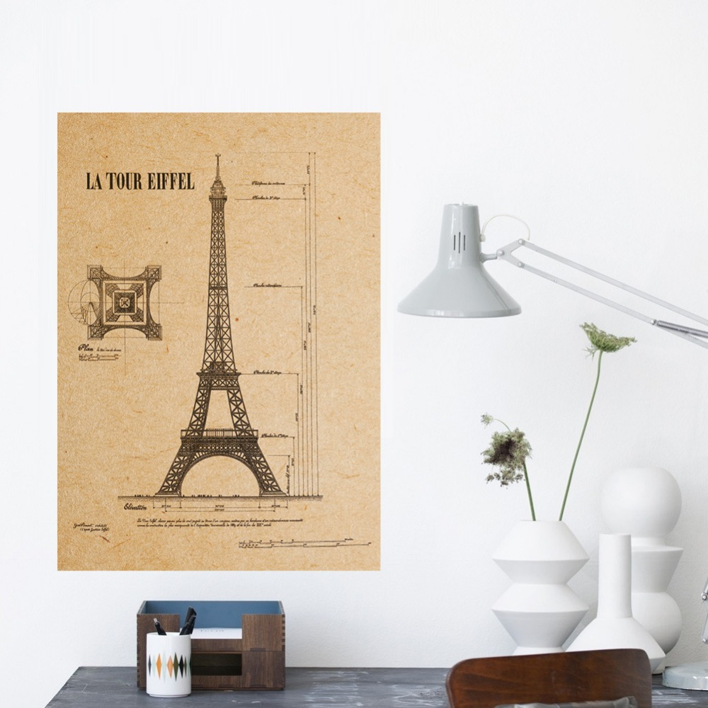 Charming Wall Decor Eiffel Tower Gallery - The Wall Art Decorations ...