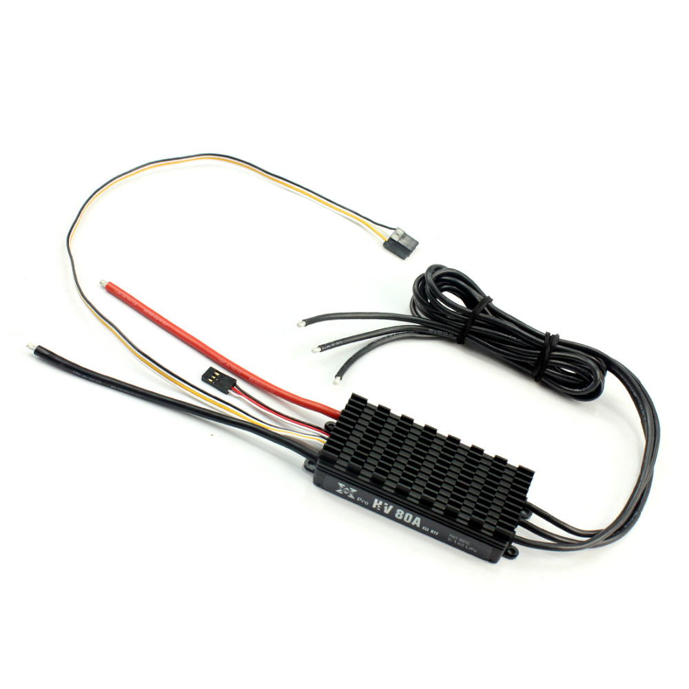 Hobbywing XRotor Pro 6-14S 80A HV V3 ESC No BEC Electronic Speed Controller for Multicopter Agricultural Drone F20113 newest flycolor waterproof 80a hv brushless esc for agricultural rc drones diy quadcopetr multicopter