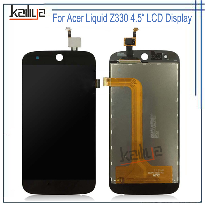 For Acer Liquid Z330 LCD Display With Touch Screen Digitizer Assembly Repair Parts NEW 4.5