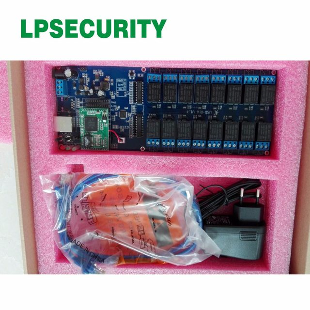 usr r16 t network relay switch industrial tcp ethernet relay board suport 3 timer switch function