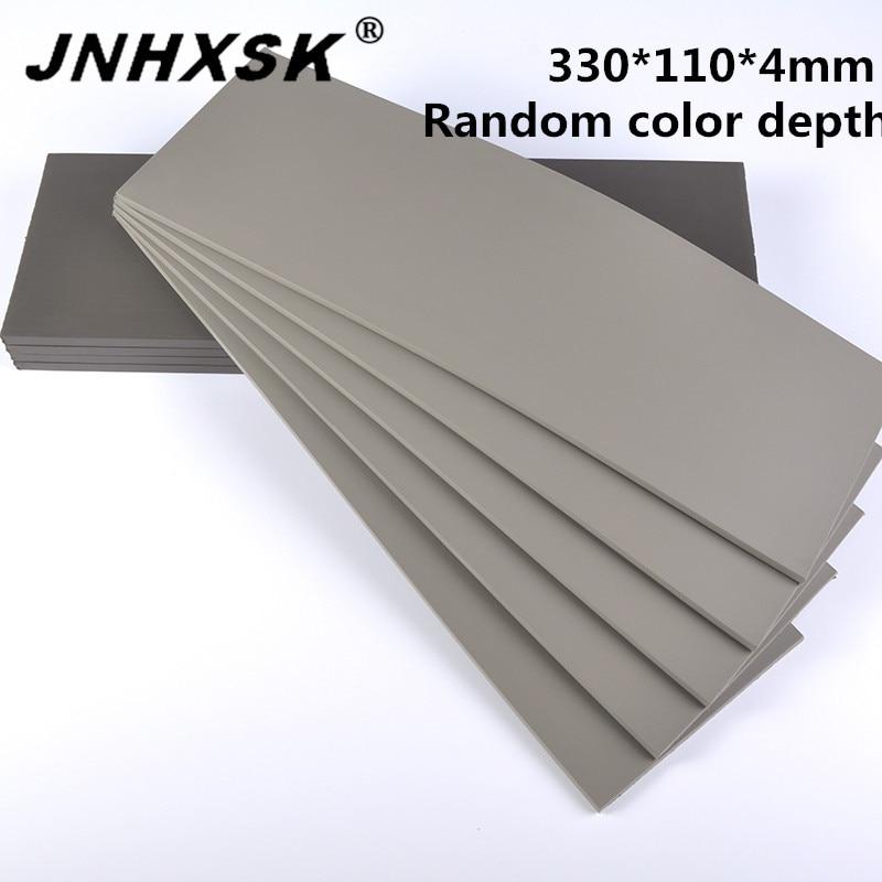 330*110*4mm 1 Pcs Grey Flash Stamp Pad Laser Rubber Sheet Photo-sensitive Plate Materials Self-inking Stamping Making