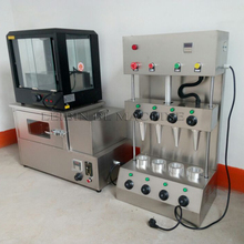 Manufacturer prices Pizza cone machine and Pizza Oven With Display cabinet