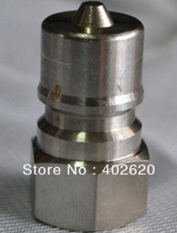 ФОТО KZE1/2, 1/2 hydraulic coupler,stainless steel material, quick connectors, quick coupler fast shipping