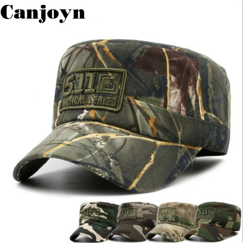Canjoyn 2018 Hot Embroidery Camouflage Baseball Cap Men women Sport Adjustable Cap Hats  ...