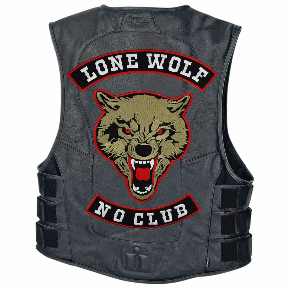 Home & Garden Learned Classic Fashion Logo Designs It Is What It Is Funny Embroidered Motorcycle Mc Club Biker Vest Patchdiy Clothing Decoration Arts,crafts & Sewing
