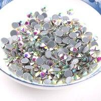 Best Sales! SS16(3.8 4.0mm) 10 bags Hot fix rhinestones strass hotfix crystal flatback stones for garment women dress case decro