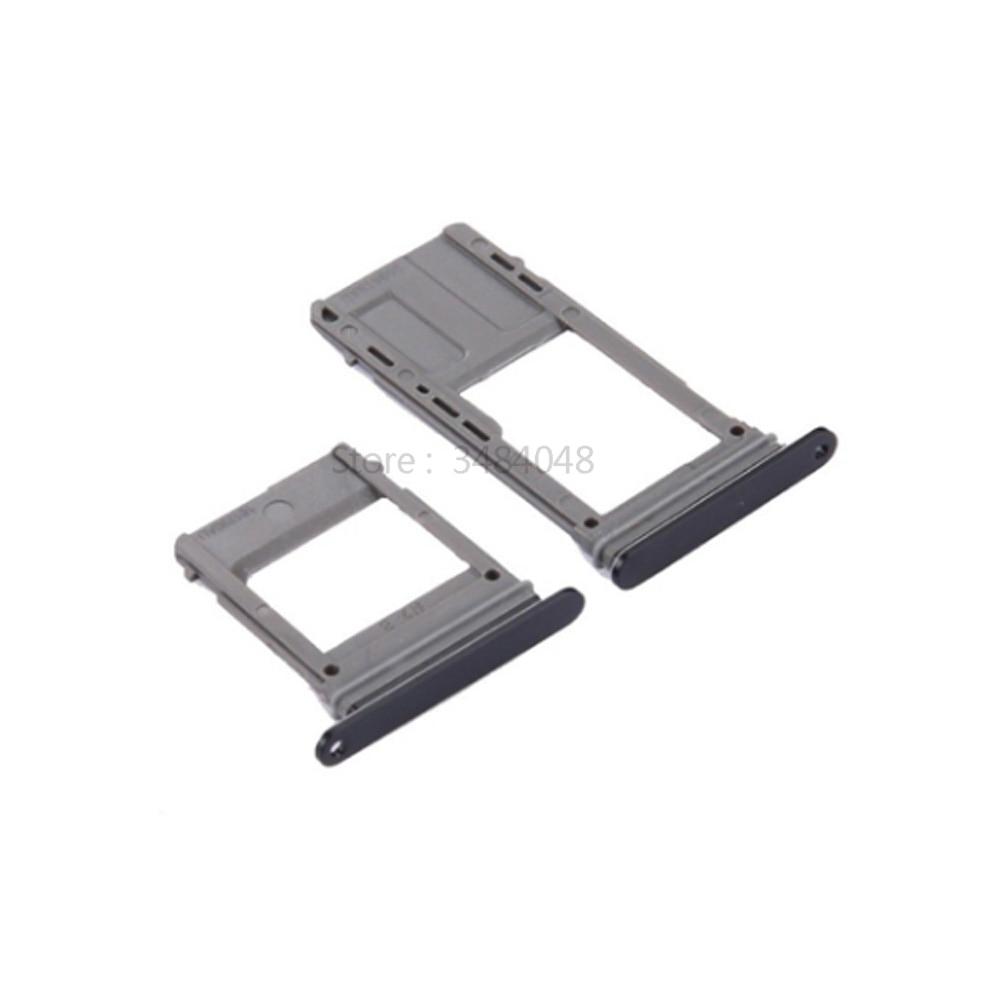 For Samsung Galaxy A5 A520 A7 2017 A720 Single Sim Tray SIM Card Tray Slot Holder + Micro SD Card Tray