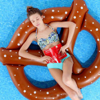 2017 Pool Swimming Float Inflatable Swimline Floating Lounge Raft New Chair Water Portable Dot Print Welfare For Women Holiday