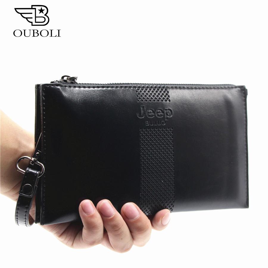 Hot hommes de portefeuilles en cuir hommes portefeuilles carteira masculina designer embrayage cl