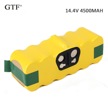 14.4V 4500mAh Ni-MH Dust Cleaning Sweeper Rechargeable Battery Pack Suitable for Irobot Roomba Vacuum Cleaner Parts Attachment for qq6 battery for vacuum cleaning robot qq6 dc14 4v 2200mah ni mh 1pc pack