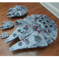 IN STOCK 05033 5265Pcs Ultimate Collector's Millennium Falcon Building Blocks Bricks Lepin Toys for Kids Compatible 10179 Gifts