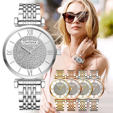 CONTENA Watch Women Diamond Fashion Ladies Watch Relogio Fem