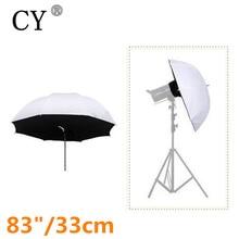 """Высокое качество 33 """"84 см Аксессуары для фотостудий прямой зонтик Софтбоксы Для Вспышка Speedlight Лидер продаж"""