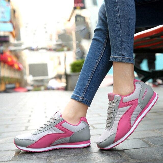 New Fashion New Women Fashion Outdoor Walking keeping balance Casual Shoe women's Classic Breathable Mesh zapatillas deportivas