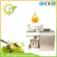 Uso Home Mini Máquina Da Imprensa de Óleo de Coco Extração De Óleo de Alta Rrate 304 Aço Inoxidável 110 V Ou 240 V Disponível