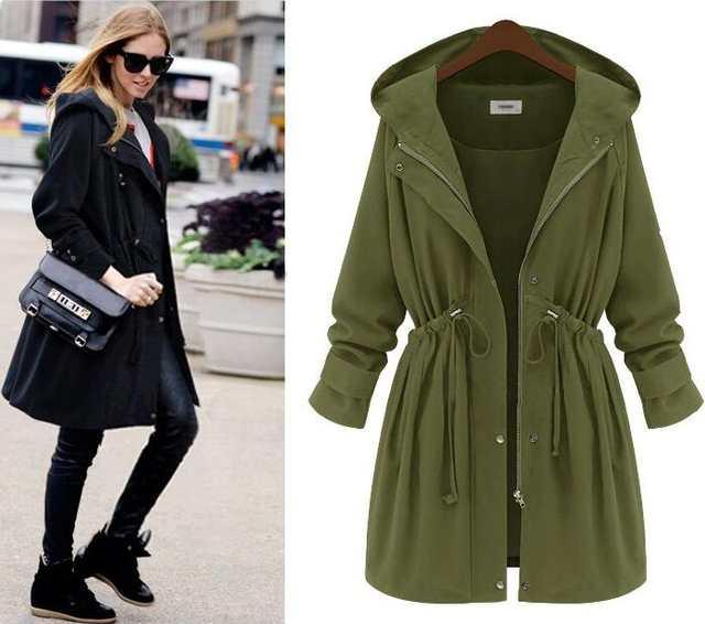 b315bd5ae Winter Women Arm Green Long Coat Slim Waist Trench Black Plus Size Hooded  Long Outwear Winter Thick Down Coats Femme 4XL