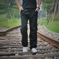 2017 Corredores De Carga Dos Homens De Alta Qualidade de Algodão Calças Ao Ar Livre Militares Calças Táticas Masculino Moda Casual Solto Plus Size Sólida