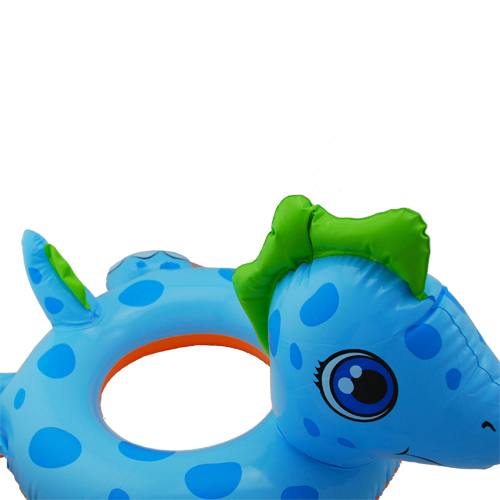 Inflatable Toddler Child Big Animal Lake Pool Float Swim Ring Blue Dragon