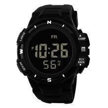 Tempo zero #501 2019 NOVA Digitalwatch Homens Analógico Digital Esporte Militar LED Relógio de Pulso de Luxo À Prova D' Água silicone Frete Grátis