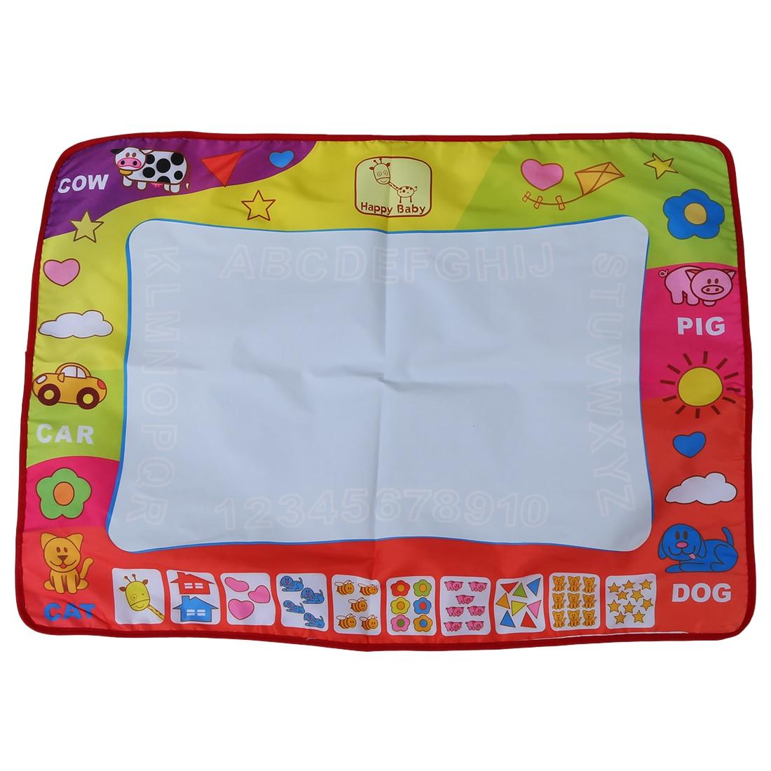 Children Toy Drawing Mat Magic Pin Educational Toy 1 mat + 2 water pen