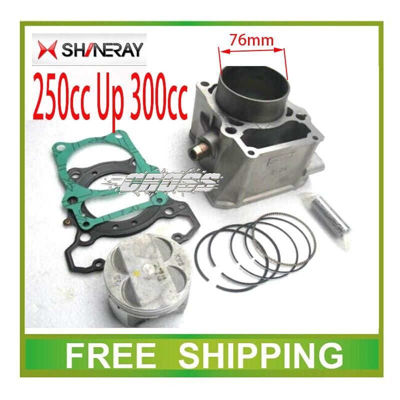 73mm 76mm bloc-cylindres piston anneau joint modifié AX-1 SHINERAY x2 x2x moteur bloc-cylindres accessoires livraison gratuite