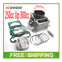 73mm 76mm cylinder block piston ring gasket Modified AX 1 SHINERAY x2 x2x engine cylinder block accessories free shipping