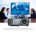 Full HD Черный Обучение Кинотеатр Проектор 1024*768 Родное Разрешение 3D Карманный Проектор 7000 Люмен Театр подарок