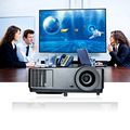 Full HD Black Teaching Cinema Projector 1024*768 Native Resolution 3D Projector Pocket 7000 Lumens Theater free gift