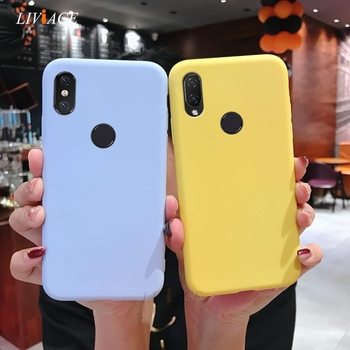 silicone case on for xiaomi mi play mix 3 8  lite pro mi8 explorer edition max candy color soft back cover fundas