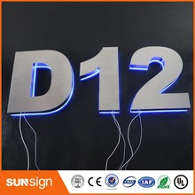 China signshop led sign custom outdoor letters