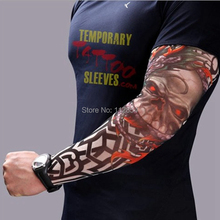 Envirodyne Free Shipping Nylon Stretchy Fake Tattoo Sleeves Arm Stockings 300pcs/lot